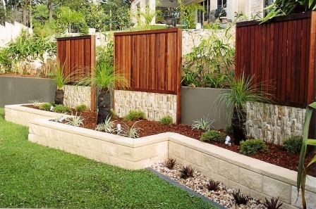 Australia landscape design native garden pinterest for Back garden designs australia