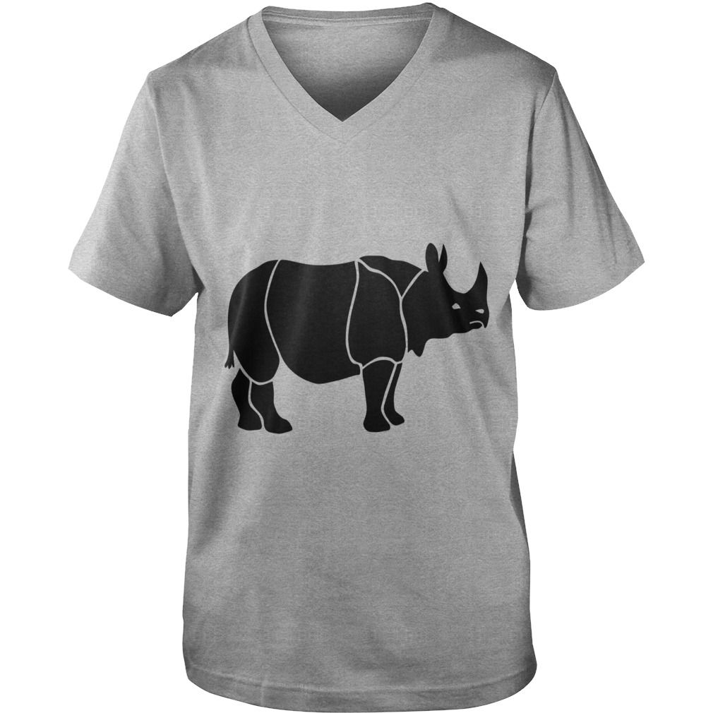 Africa Map Horn Of Africa%0A rhino rhinoceros africa horn horny wild animal colorful colors map funny  happy Womens TShirts