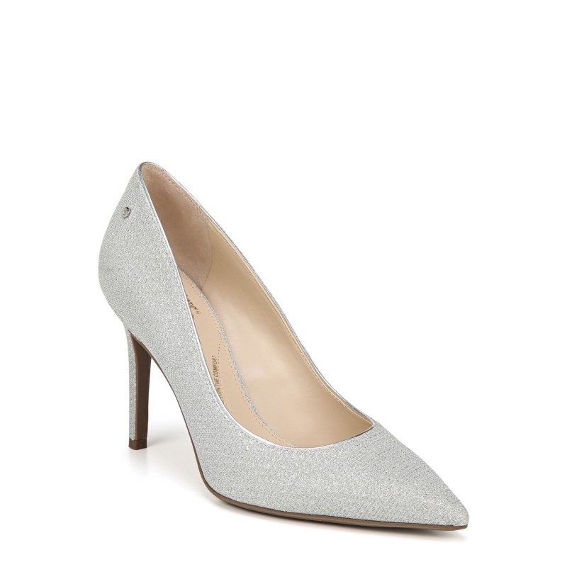 6c5b656e407fec Circus by Sam Edelman Women s Mina Pump Shoes (Silver Mesh ...
