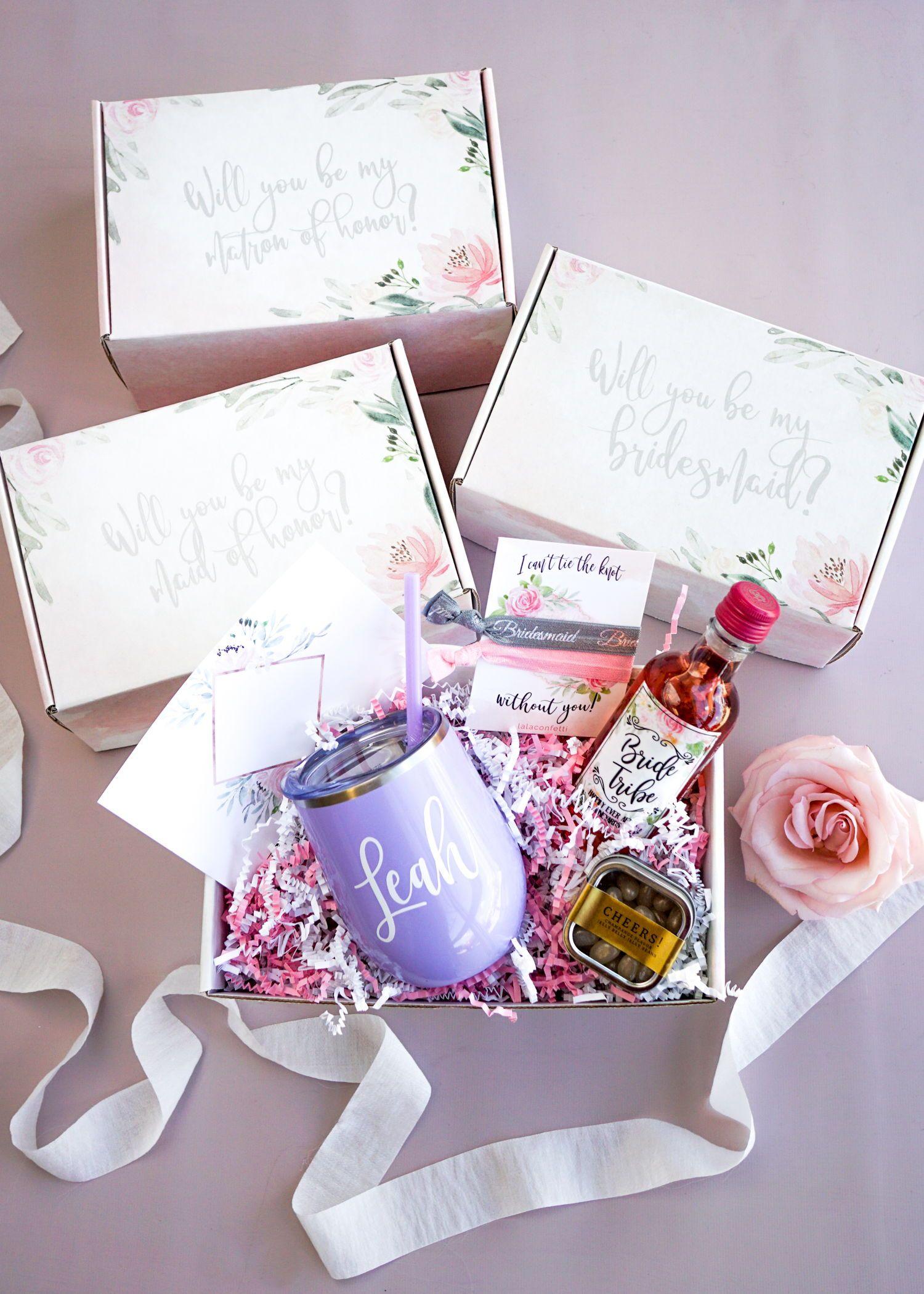 Bridesmaid proposal box original edition bridesmaid