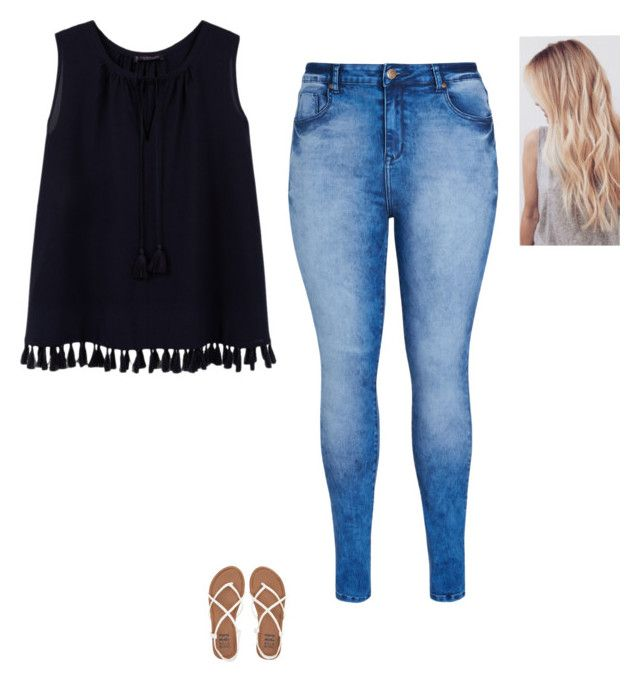 """""""spring outfit"""" by alexbetancourt on Polyvore featuring City Chic, Violeta by Mango and Billabong"""