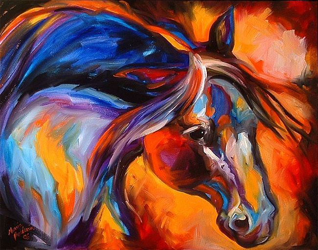 Western Painting | SPIRIT OF THE WEST - by Marcia Baldwin from Western Art by M Baldwin