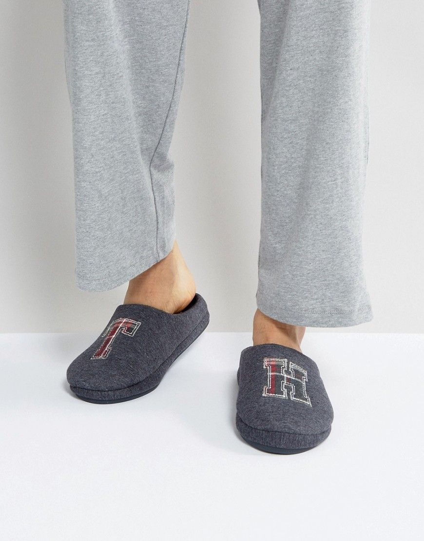 1b125f55881 TOMMY HILFIGER CORNWALL MELTON SLIPPER IN GRAY - GRAY.  tommyhilfiger  shoes