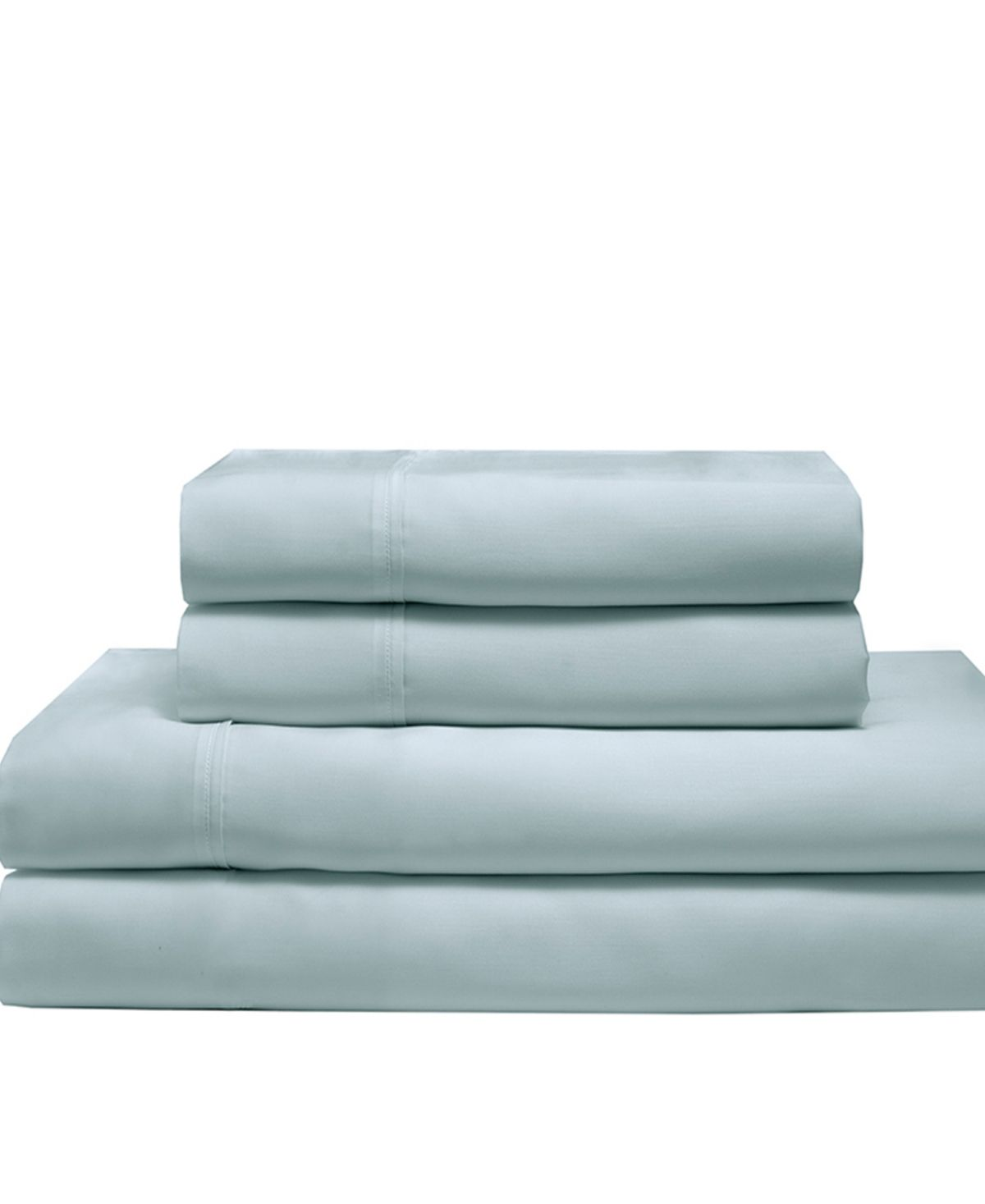 Elite Rayon From Bamboo Queen Sheet Set Blue Mist King Sheet