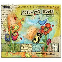 Color My World By Lisa Kaus I Love Lang S Calendars Wood Frames