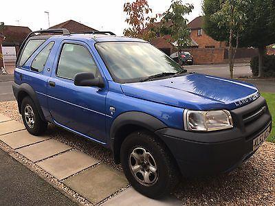 Ebay Land Rover Freelander 1 8 Spares Or Repair Carparts