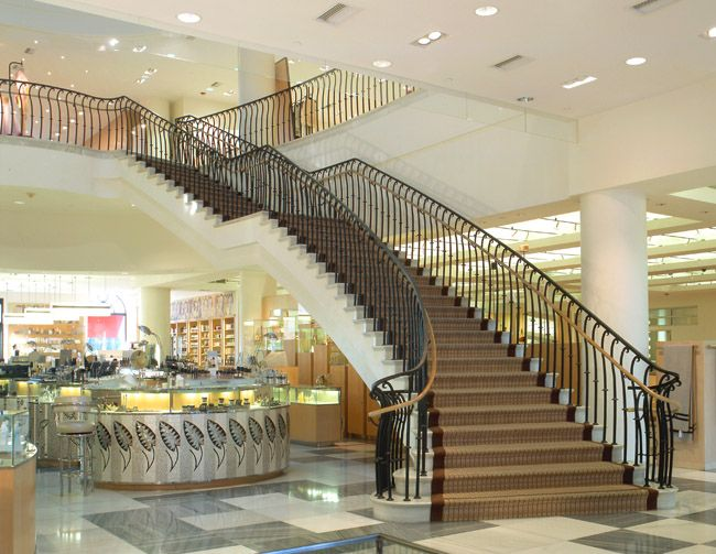 Google Beverly Hills barney's beverly hills staircase - google search | stair railings