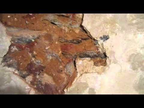 Basement Walls Ling And Crumbling, Crumbling Plaster Basement Walls