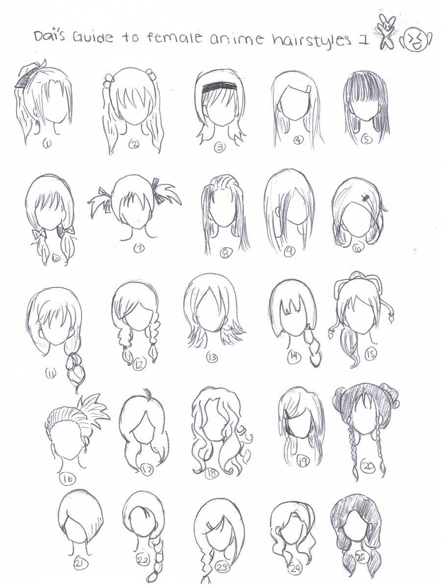Excellent Drawings Girls And Teenage Hairstyles On Pinterest Short Hairstyles Gunalazisus