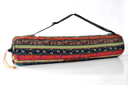 DoYourYoga Borsa da yoga »Vikram« / Yoga mat bag made of
