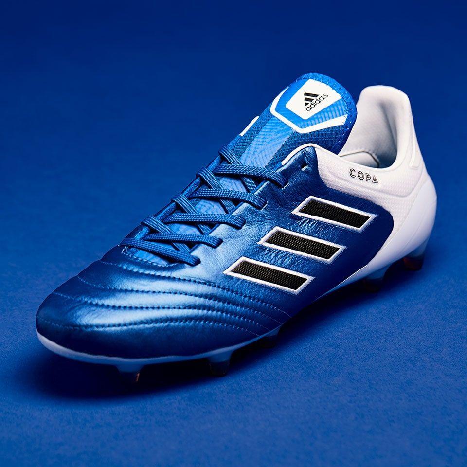adidas Copa 17.1 FG - Junior Boots - Firm Ground - Blue/Core Black/White