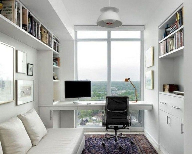 36 Affordable Home Office Decoration Ideas To Give You Chance To Do Some Business At Home Matchness Com Modern Home Offices Home Office Furniture Design Contemporary Home Office