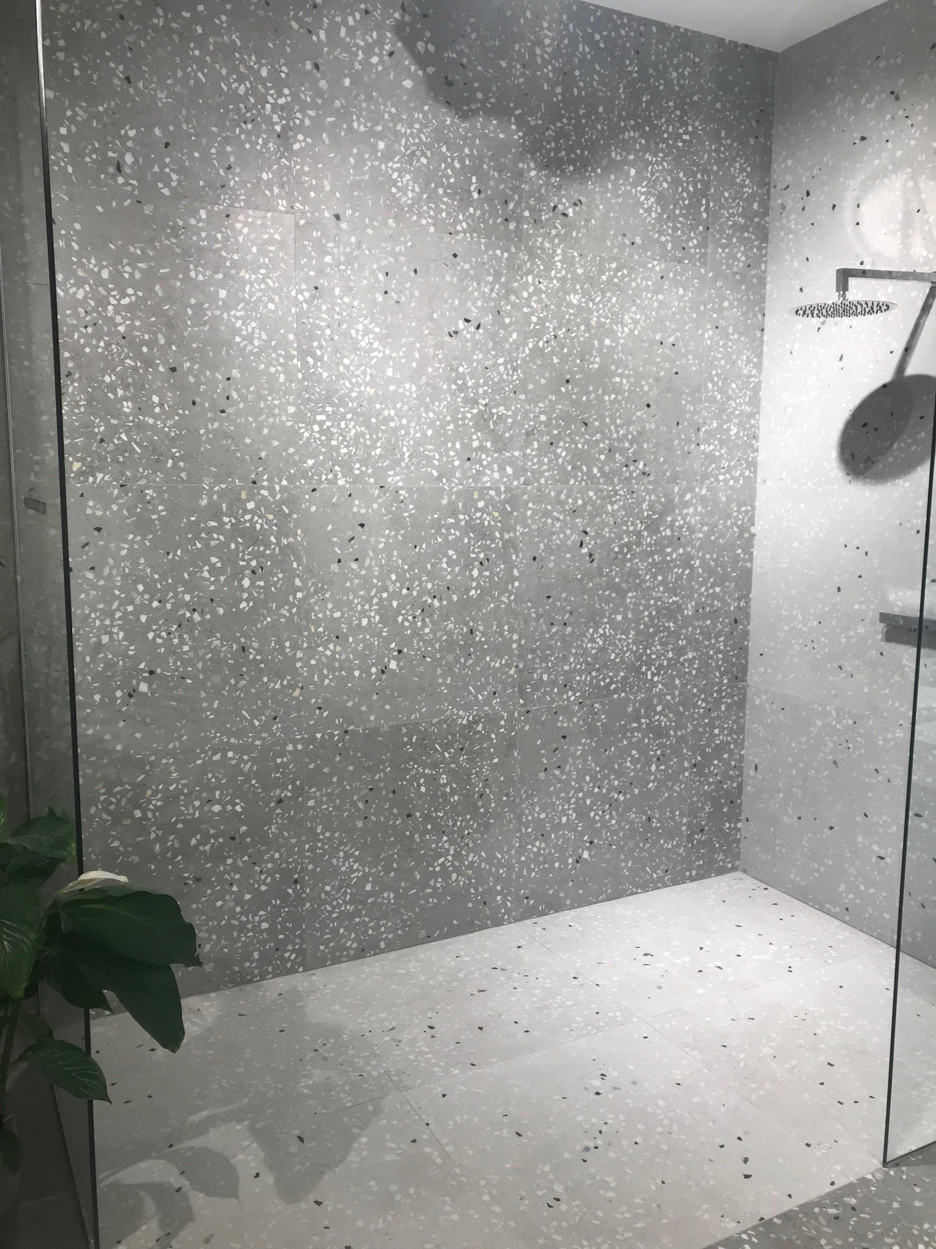 Terrazzo Floor And Wall Terrazzo Flooring Bathroom Tile