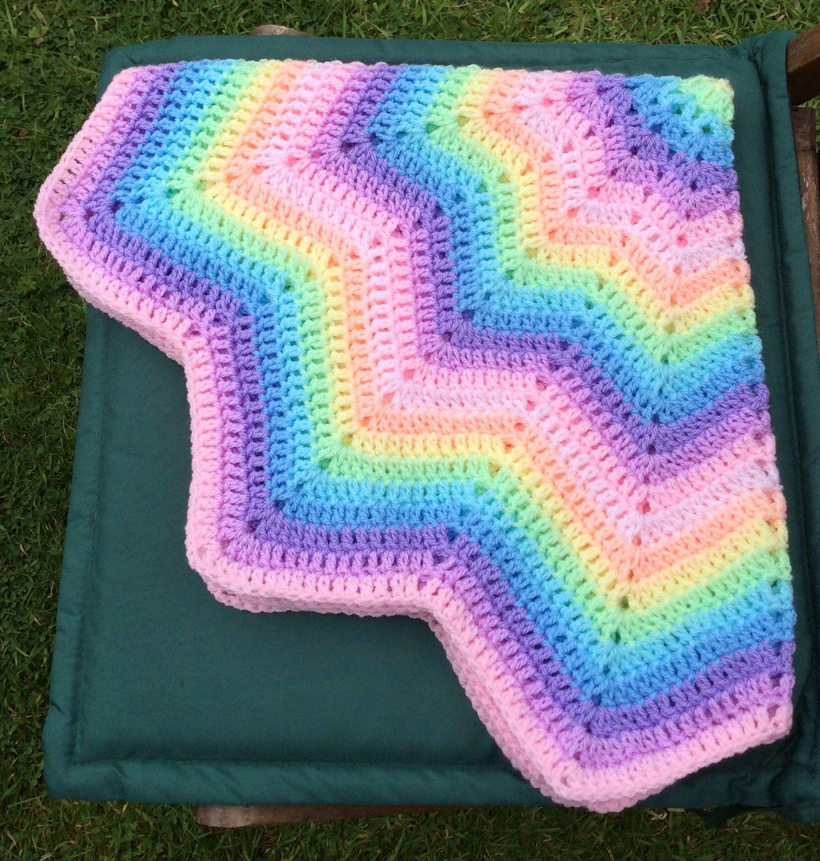 12 point star ripple | Yarn porn | Pinterest | Crochet patrones ...