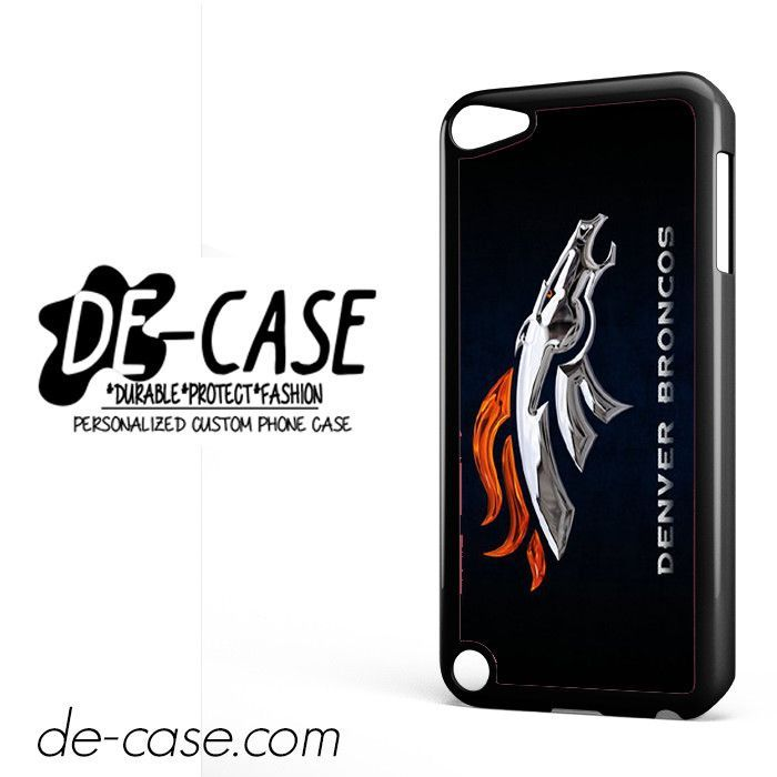 Metal Denver Broncos DEAL-7072 Apple Phonecase Cover For Ipod Touch 5