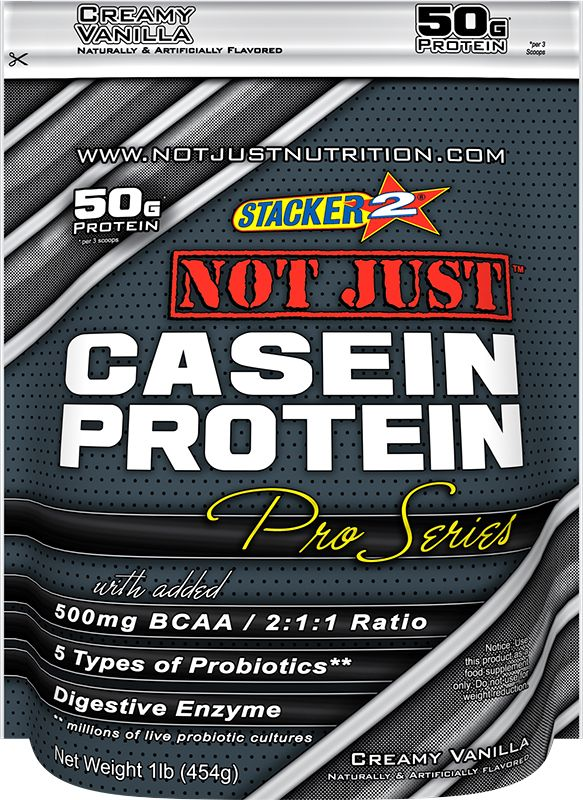 Casein has the ability to provide your bloodstream with a