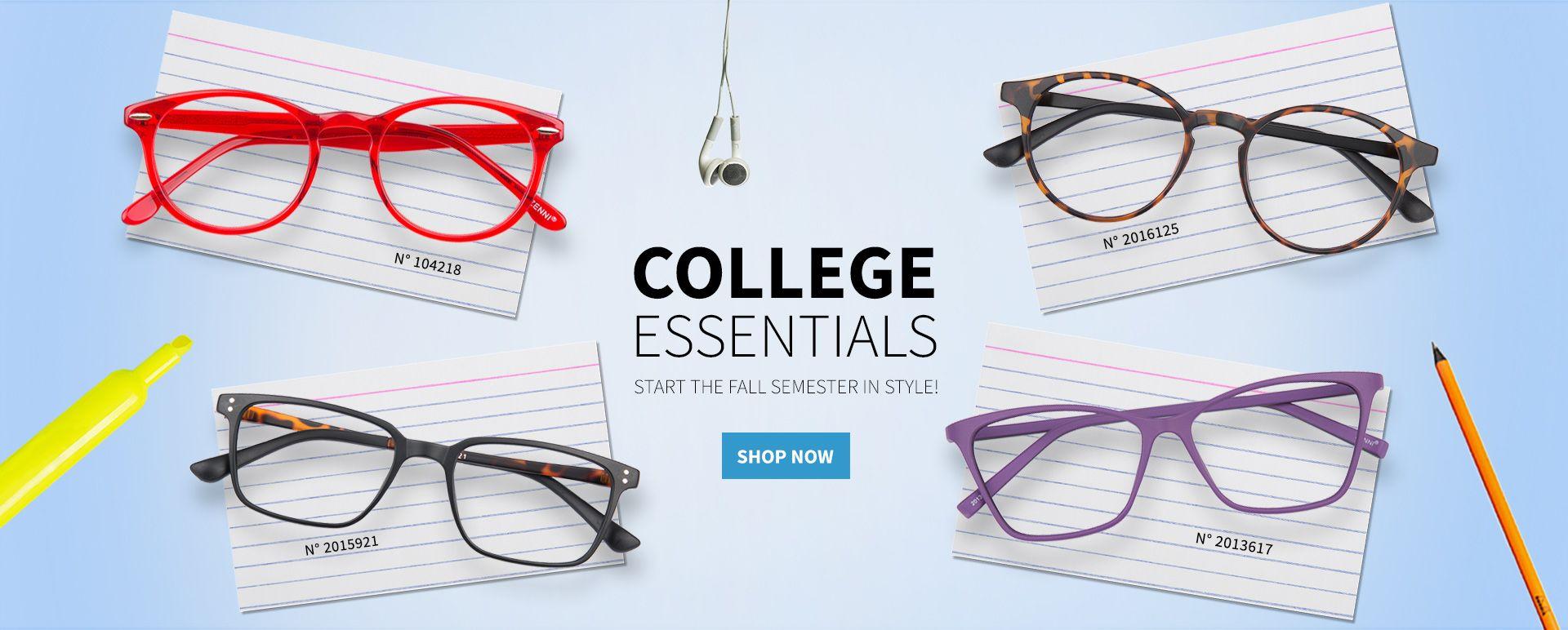 College essentials zenni optical zenni optical