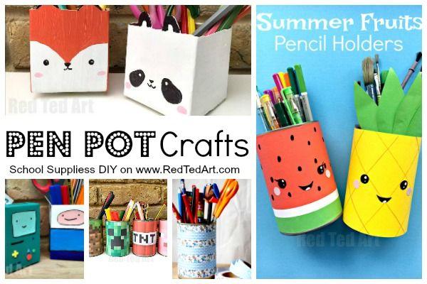 School Supplies Diy Ideas Diy School Supplies Diy Crafts For
