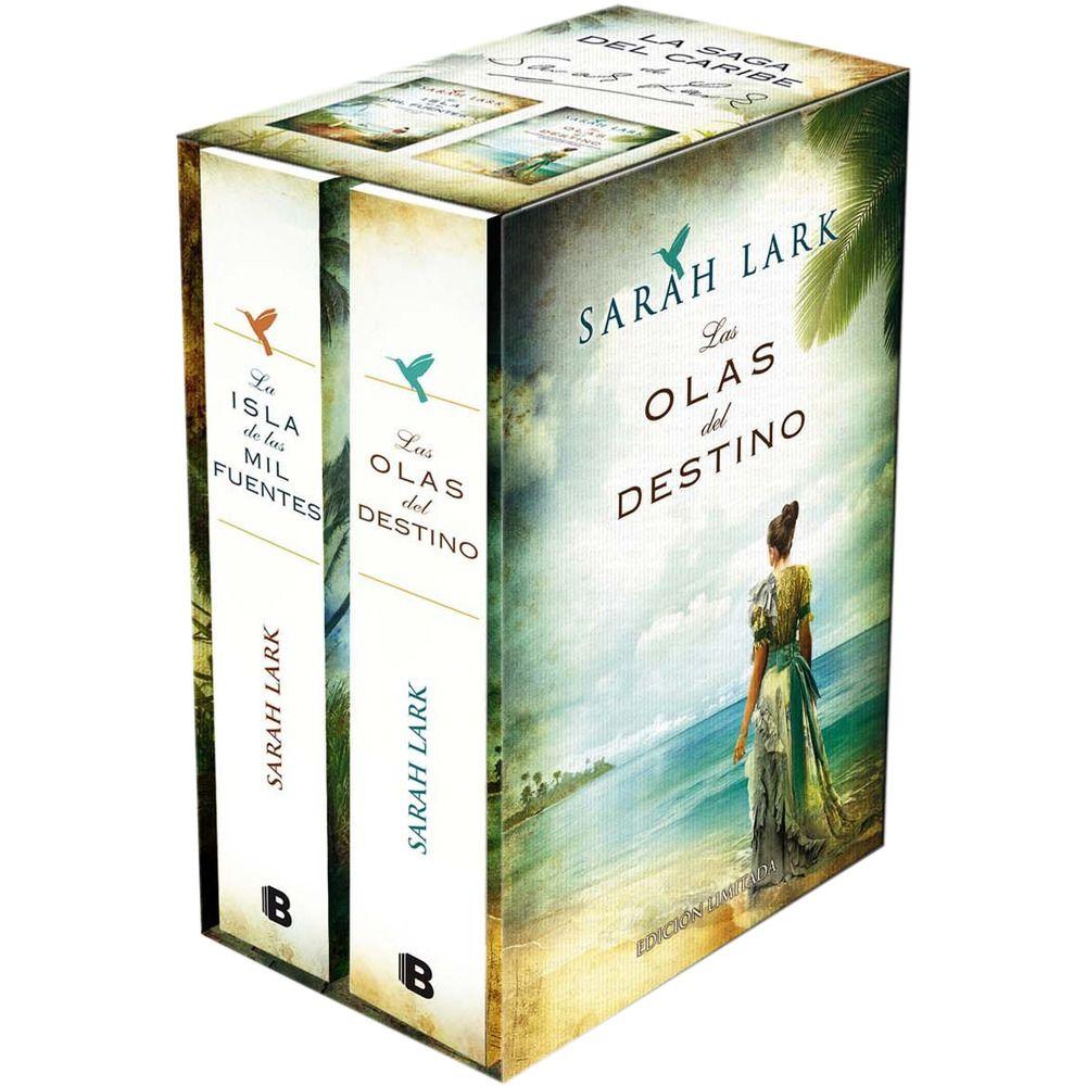 Bilogía Sarah Lark Saga Del Caribe 1 La Isla De Las Mil Fuentes 2 Olas Del Destino Destino Libros Islas