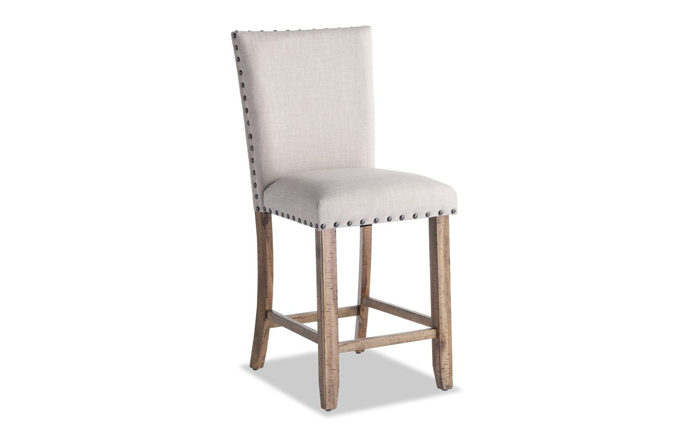 Sonoma Upholstered Counter Stool Bob S Discount Furniture Bobs
