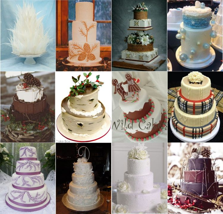 Tips or Trends Tuesday: Trend: Winter Wonderland Wedding Cakes