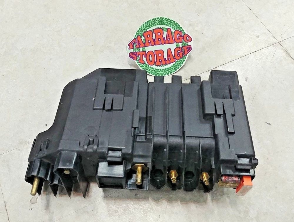 Details About Mercedes Benz W221 W216 Power Supply Fuse Relay Box