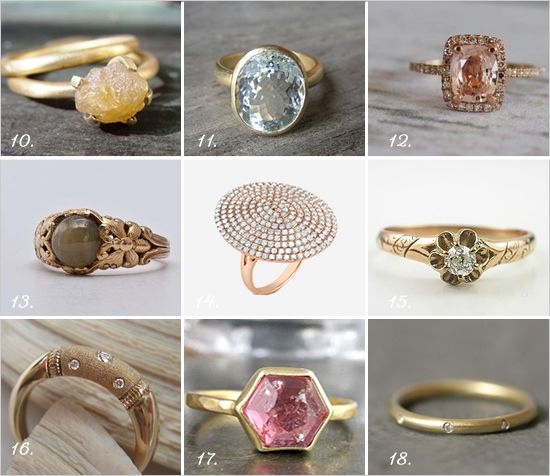 Vintage Antique Engagement Rings From EraGem Circle diamond