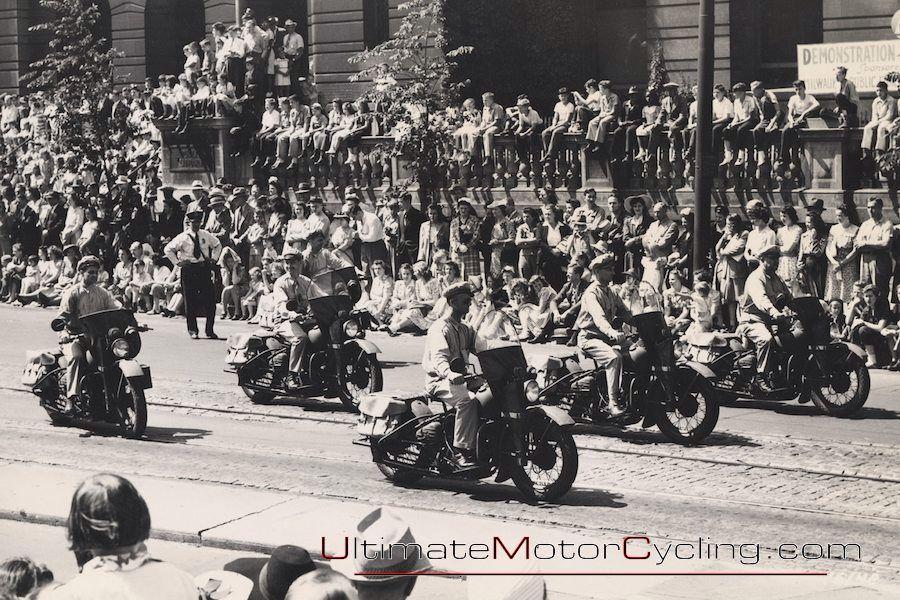 A real Harley Rally