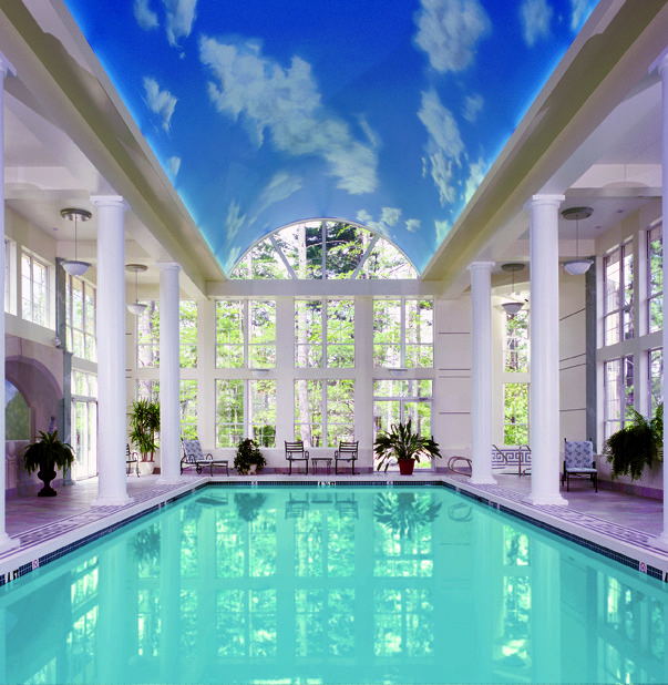 Our Indoor Mineral Lap Pool Open Year Round The Senator Spa