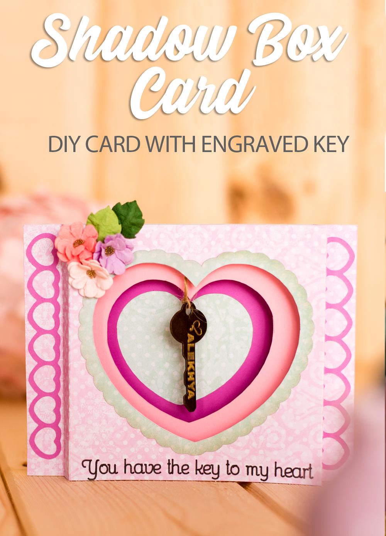 Key To My Heart Shadow Box Pazzles Craft Room Heart Shadow Key To My Heart Shadow Box