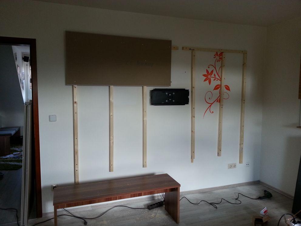 Wohnwand Tv Wand Selbst Gebaut Teil 1 Bauanleitung Zum Selberbauen 1 2 Do Wohnzimmer Tv Wand Selber Bauen Tv Wand Ideen Wohnzimmer Tv Wand Selber Bauen