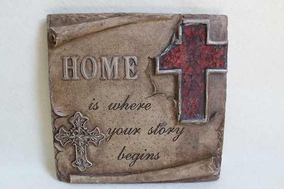 Wall Plaque, Christian Wall Plaque, Resin Plaque, Wall Art, Quote ...