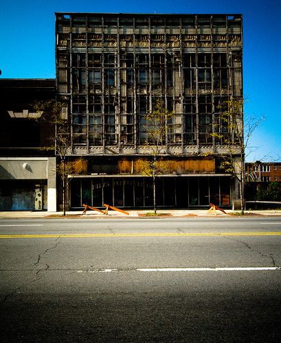 Abandoned Detroit | Abandoned buildings abound in Detroit
