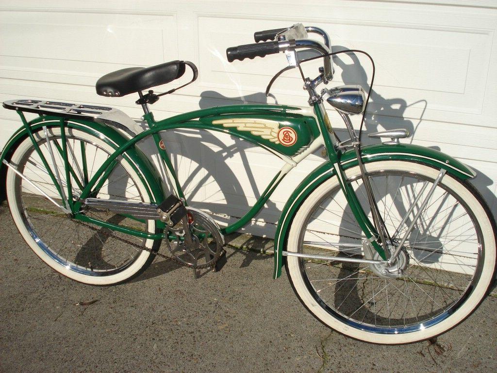 1937 Schwinn Cantilever Autocycle | Vintage Bicycles