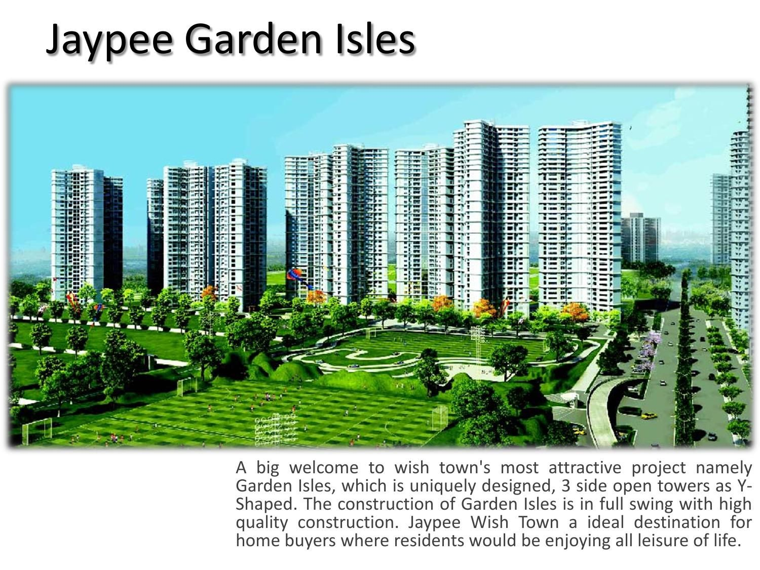 Jaypee Garden Isles,YShaped Towers Real estate