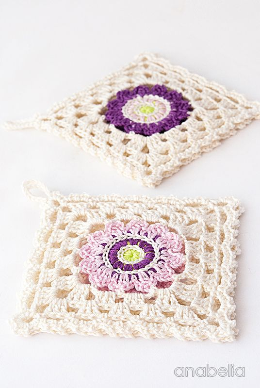 Japanese inspiration crochet square motif by Anabelia Craft Design ...