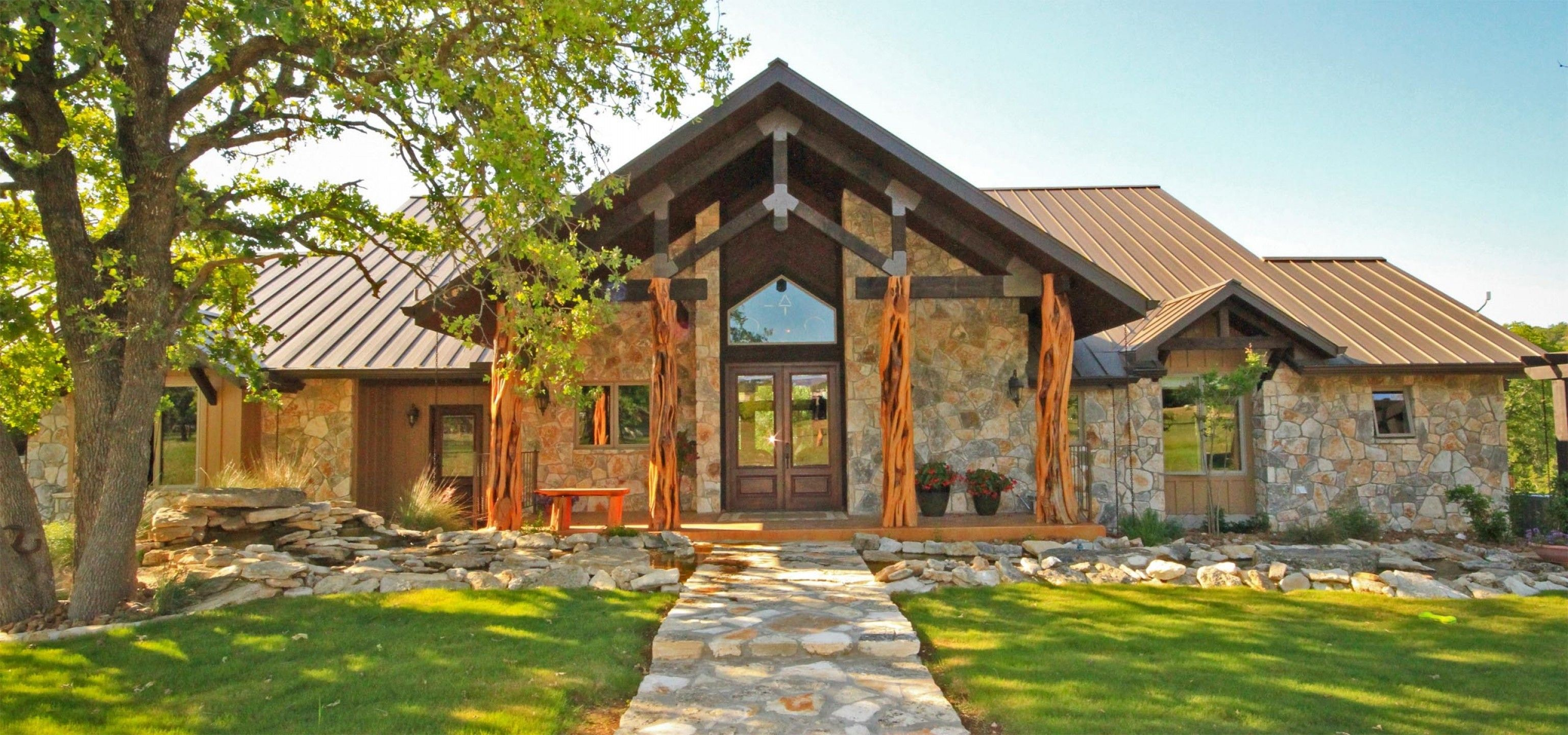 Country Ranch House Designs Ideas About Hill Country