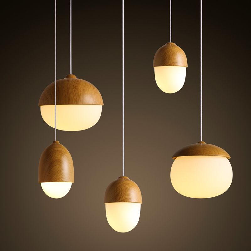 Have An Inquiring Mind Japanese Style Delicate Crafts Wooden Frame Led Ceiling Light Luminarias Para Sala Dimming Led Ceiling Lamp Aesthetic Appearance Ceiling Lights & Fans