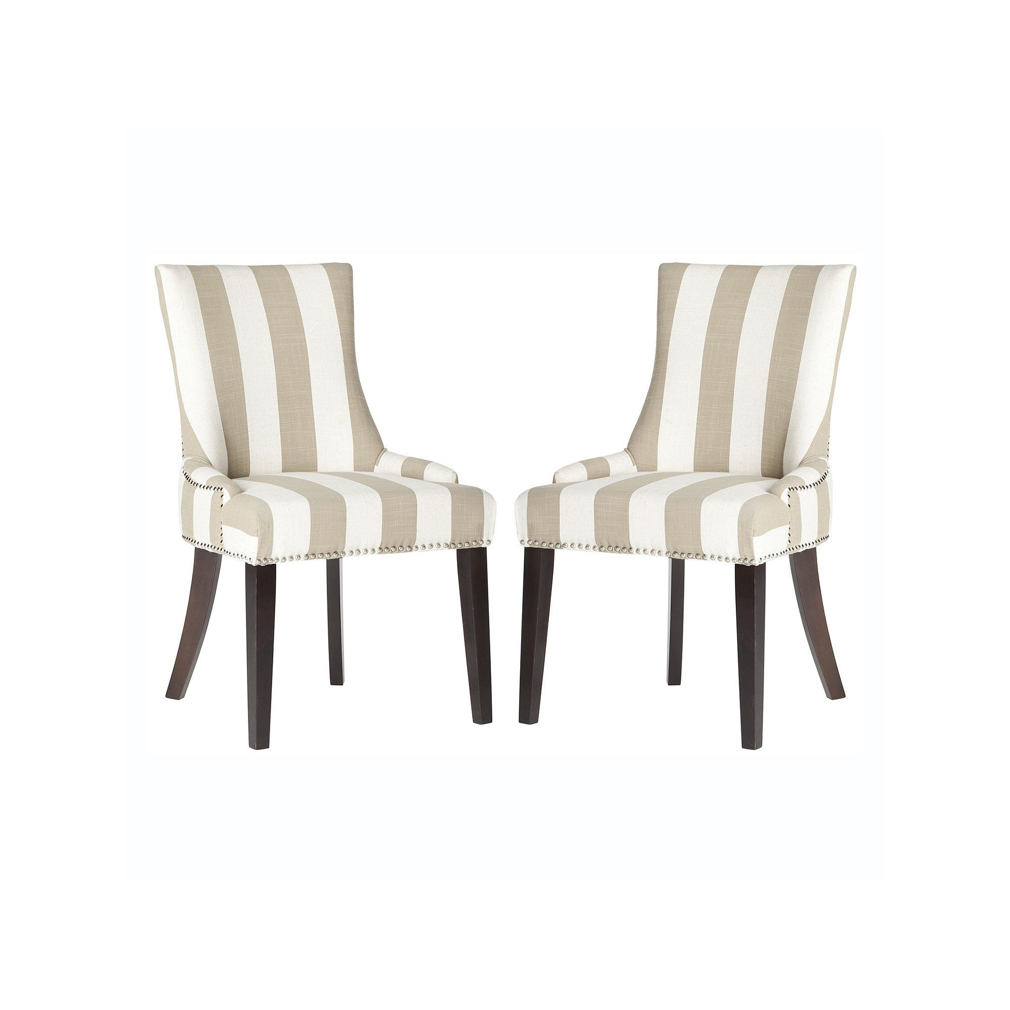 Safavieh 2 Piece Lester Dining Chair Set Multicolor Dining