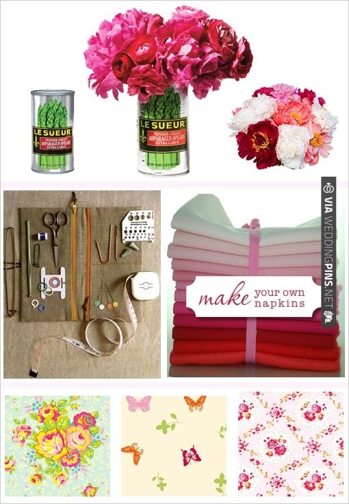 Diy do it yourself make your own napkins napkins wedding flowers diy do it yourself make your own napkins napkins wedding flowers solutioingenieria Image collections