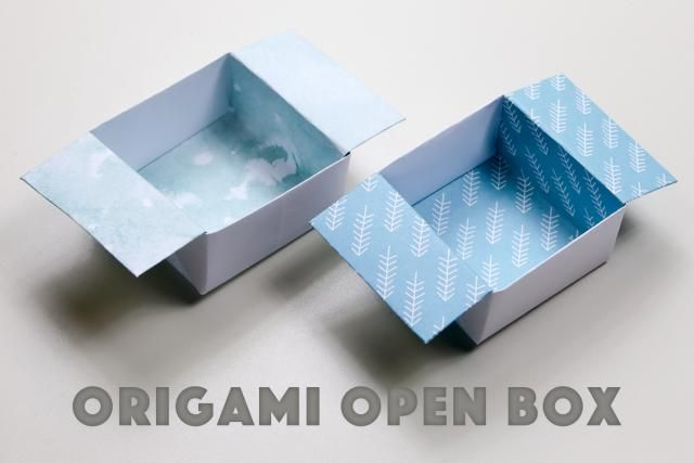 Easy origami box step 1 | 427x640