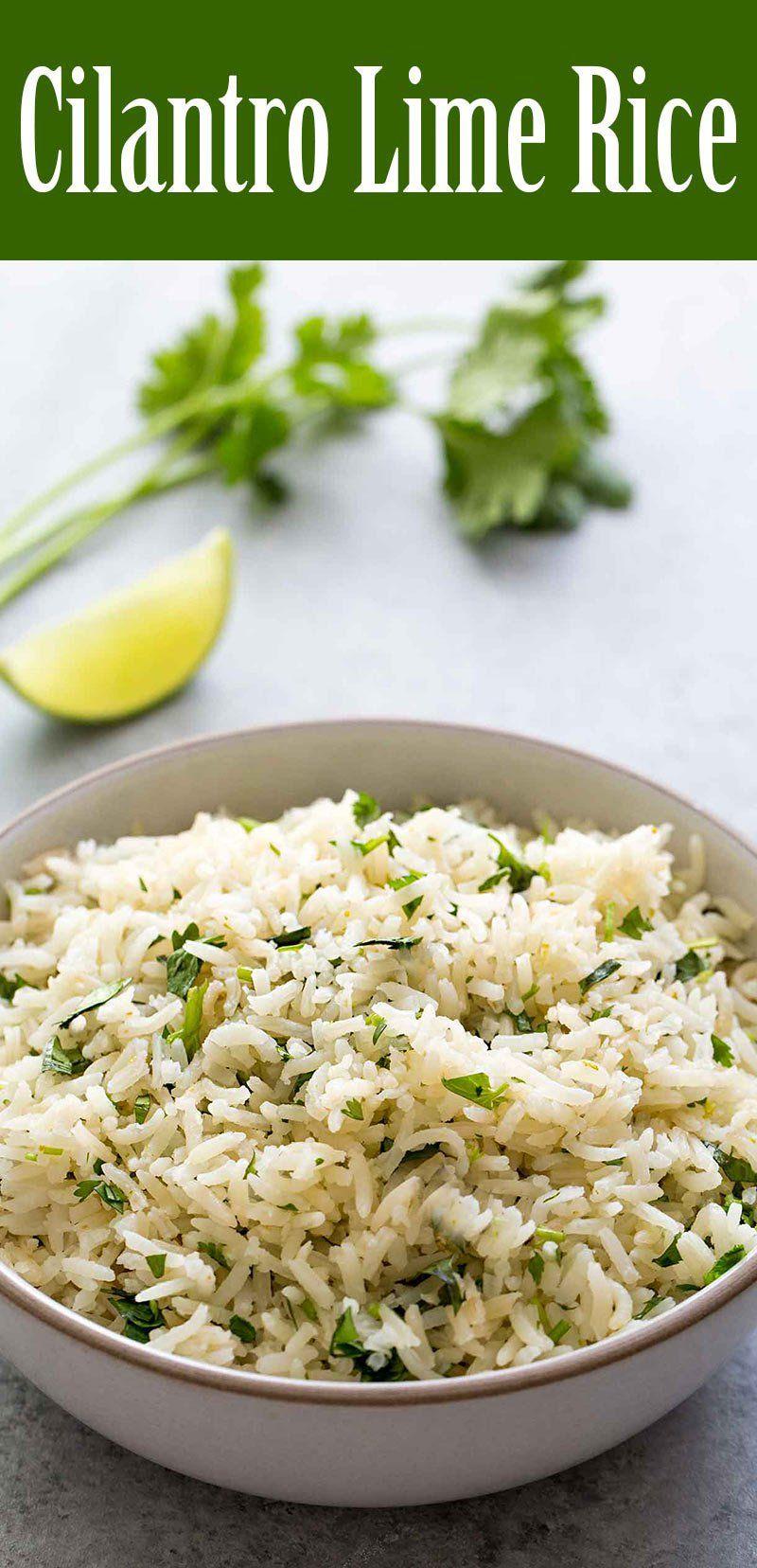 Cilantro Lime Rice Recipe (with Video) | SimplyRecipes.com