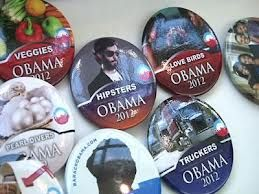 DNC - Day 1 campaign buttons