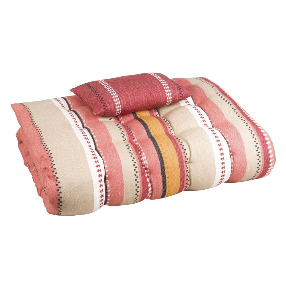 matelas bain de soleil en coton imprim bayad re 170x60. Black Bedroom Furniture Sets. Home Design Ideas