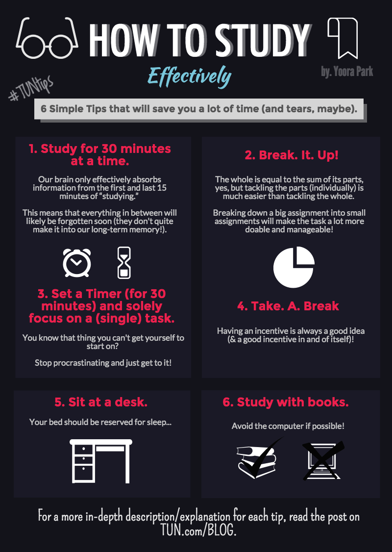 8 Tips to Help You Study Better and More Effectively ...