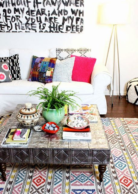 Attractive Inspiration Bohemian Couch. Sea of Girasoles  Inspiration bohemian interiors Pinteriors