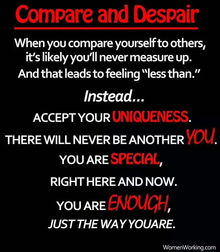 Compare Quotes Compare And Despair  Clever Things To Know  Pinterest  Thoughts