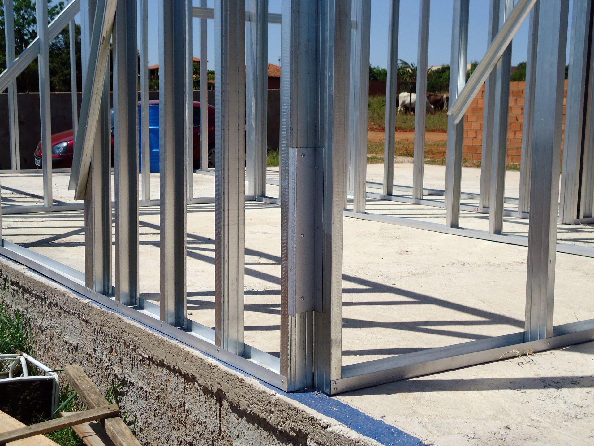 Casas em steel framedetalhe da fita isolante casas steel - Casas steel framing ...