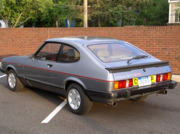 Rare In The Usa 1985 Ford Capri 2 8 Injection Special Auto S