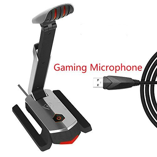 USB Microphone, SUPERSUN Gaming Microphone Computer